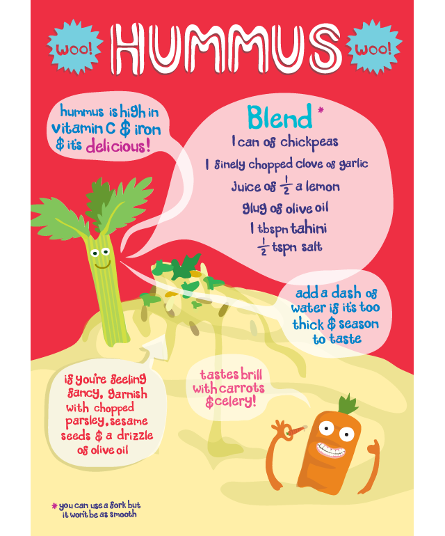 hummus recipe by claire murray