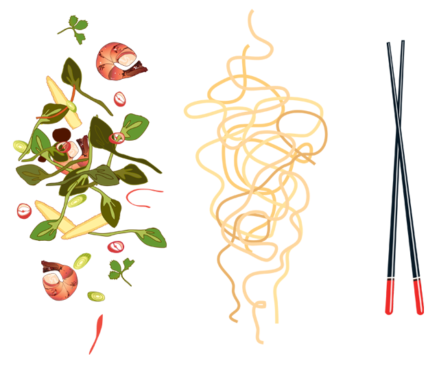 stirfry flash illustration claire murray