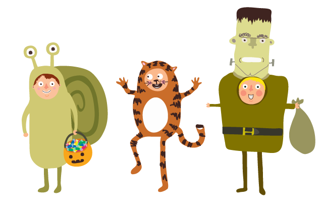Halloween costume kids claire murray