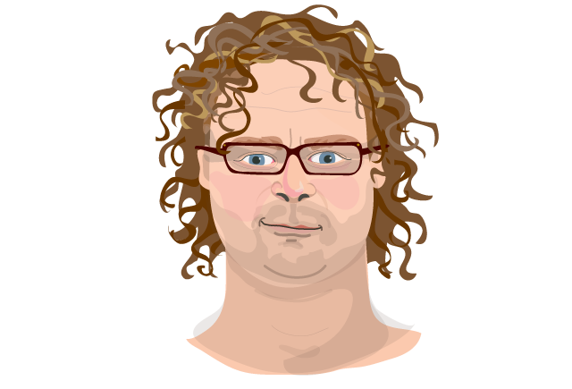 Hugh fearnley whittingstall portrait claire murray illustration
